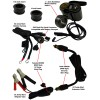 Black Cobra & Bike-2-Bike Jr. EZ Plug-In Jump-Start Kit